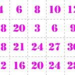 Memory tabelline da stampare