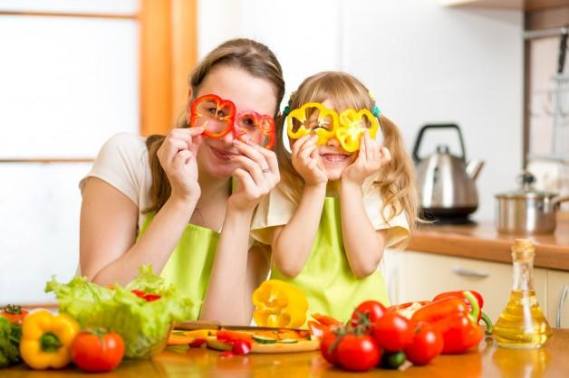 Educare a mangiare sano.