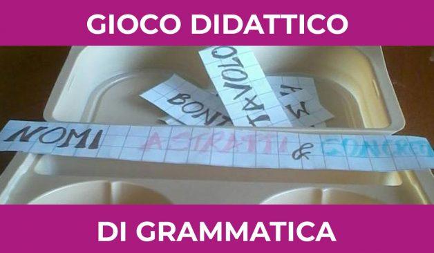 Gioco Didattico di grammatica per bambini