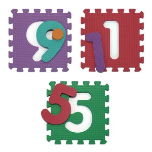 tappetino con numeri per bambini